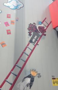 Artwork ladder