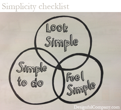 Simplicity Checklist